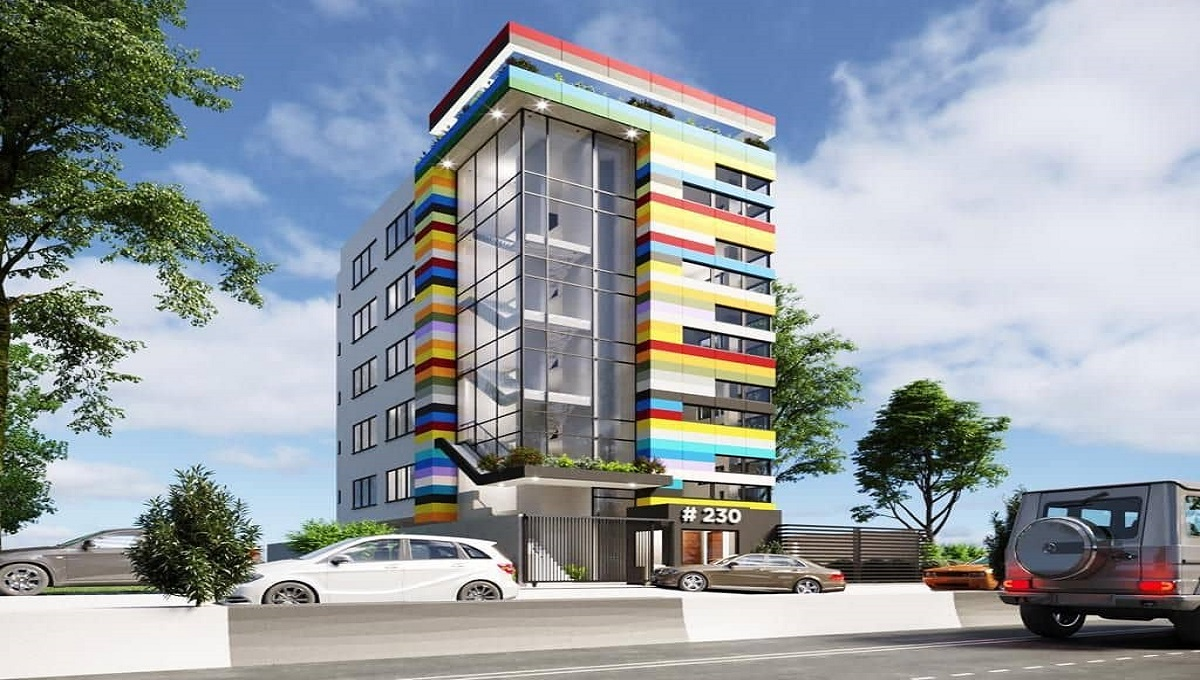 FOR LONG LEASE SIX FLOOR PURPOSE BUILT OFFICE BUILDING